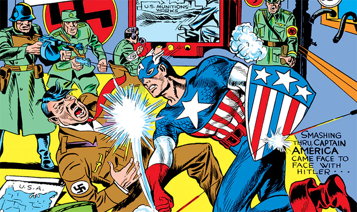 Jack Kirby - Captain America Number 1