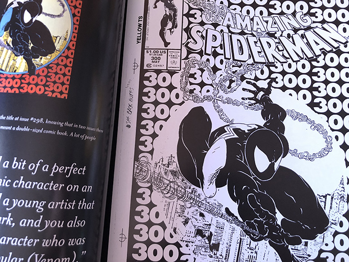 Todd McFarlane Art Book Inside Page Of Spiderman