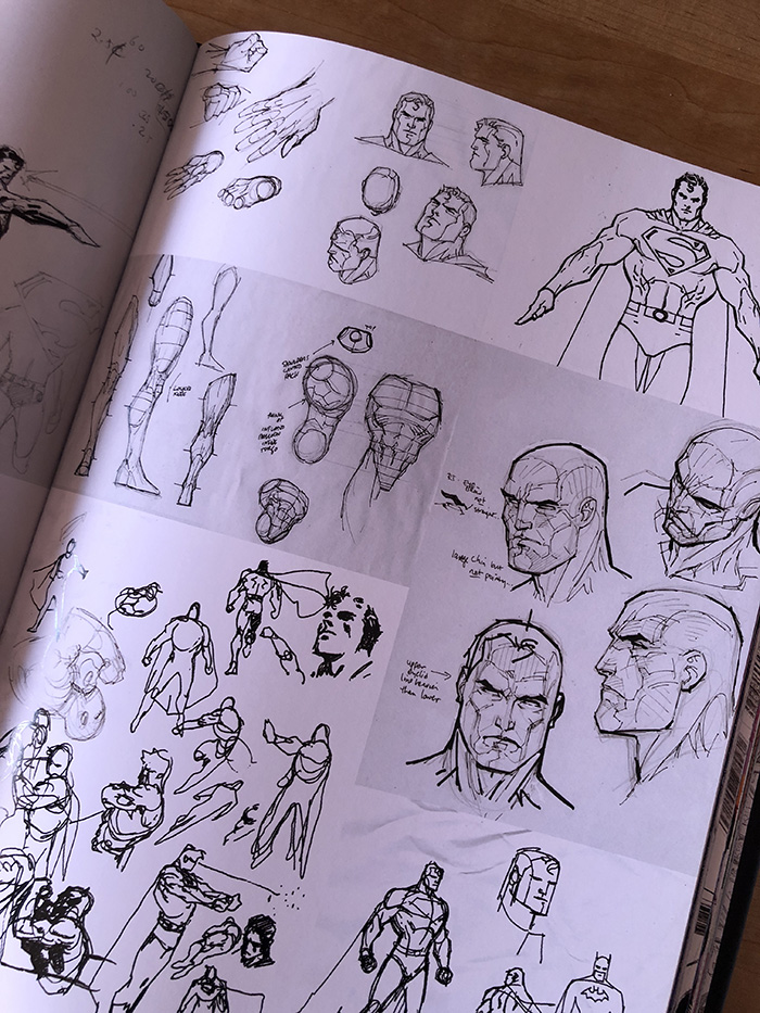 Icons Art Book Interior Page
