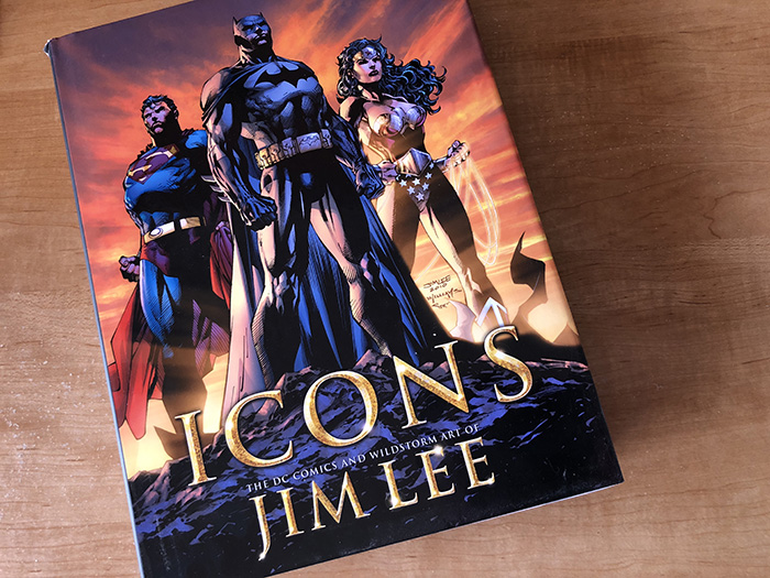 Jim Lee Icons Art Book Cover